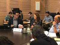 מנכ״ל משרד הבריאות משה בר סימן טוב בדיון בוועדת הבריאות /צילום: אייל בסון