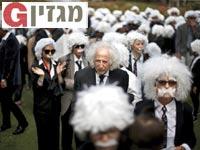 אירוע כפילי אלברט איינשטיין / צילום: רויטרס