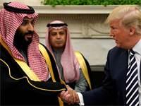 דונלד טראמפ ויורש העצר הסעודי מוחמד בן סלמן / צילום: רויטרס
