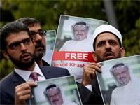 מחאה לשחרור ג'מאל קאשוגי / צילום: Reuters, Murad Sezer