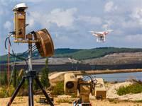 מערכת הרחפנים Drone Dome של רפאל / צילום: רפאל