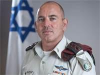 """אל""""מ יגאל בן עמי, מפקד בסיס הקריה / צילום: דובר צה""""ל"""