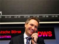 סוחר בבורסת פרנקפורט / צילום: רויטרס