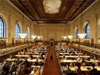 הספרייה הציבורית של ניו יורק (NTPL) / צילום: Reuters, Mike Segar