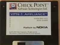 הדיסקט הראשון של VPN-1 שרץ על מכשיר של נוקיה / באדיבות שלמה קרמר