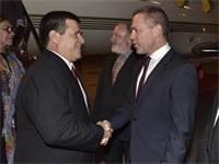גלעד ארדן ונשיא פרגוואי, הוראסיו קארטס / שלומי אמסלם