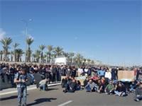 הפגנה עובדי טבע טק נאות חובב / באדיבות ההסתדרות