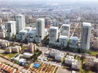 שכונת נורדאו בנתניה - הדמיה / קרדיט: אלונים-גורביץ, אדריכלים ומתכנני ערים