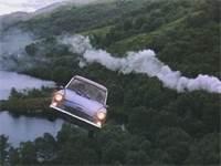 """המכונית המעופפת של משפחת ויזלי / צילום: יח""""צ"""