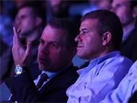 השר ארדן ומשה צ'יקו אדרי / צילום: ראובן קסטרו וואלה! NEWS