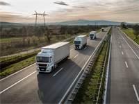שיירת משאיות / צילום: SHUTTERSTOCK