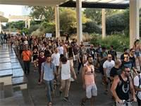 """מחאת הלה""""טבים / צילום: גיא כהן"""