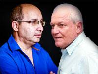 אבי ניסנקורן וחיים כץ / צילום: שלומי יוסף