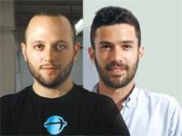 """מימין: אור בן עוז נשיא החברה, וגיא קשטן המנכ""""ל / צילום: אמיר מאירי"""