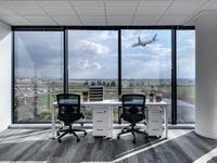 מרכז העסקים של Regus באור יהודה/ה צילום: סמדר עודד; עיצוב: אורלי דקטר