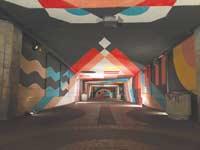 """מעבר תת קרקעי ברחוב שז""""ר / צילום: ששון תירם"""