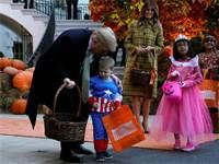 חגיגות הלוואין בבית הלבן / צילום: רויטרס
