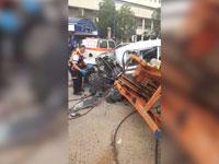 זירת התאונה בכפר סבא / צילום: דוברות מדא