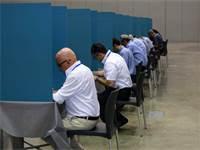 """הבחירות לנשיאות לשכת רו""""ח \ צילום: שלומי יוסף"""