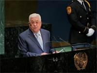 """אבו מאזן נואם בעצרת האו""""ם היום / צילום: רויטרס"""