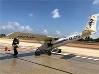תאונת מטוס קלה / צילום: רשות שדות התעופה