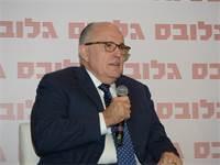רודי ג'וליאני, ראש עיריית ניו יורק לשעבר, כנס שוק ההון / צילום: איל יצהר