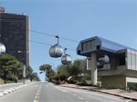תחנת רכבל אוניברסיטת חיפה \ הדמיה: יפה נוף