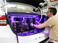 מכונית אוטונומית ניסויית של מובילאיי / צילום: רויטרס