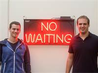 אודי אוסטר ודניאל אלמוג, מנהלי טפינגו / צילום: יחצ
