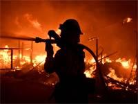שריפות הענק בקליפורניה / רויטרס