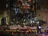 הפגנה נגד המשלוחים החיים / צילום: עדיאביקזר
