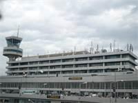 שדה התעופה הלאומי של ניגריה בעיר לאגוס, ממנו המריא המטוס / צילום: Akintunde Akinleye, רויטרס