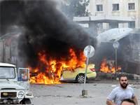 הפצצות דעאש בסוריה / צילום: רויטרס