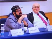 """המשנה לנשיאה השופט חנן מלצר ועו""""ד חסן ג'בארין / צילום: יעל אילן"""