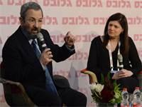 אהוד ברק ונעמה סיקולר באירוע הסטאר-אפים המבטיחים \ צילום: איל יצהר