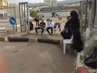 שביתת עובדי ECI הבוקר / צילום: נתי יפת