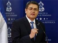 נשיא הונדורס חואן אורלנדו הרננדס / צילום: רויטרס