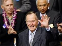 ג'ורג' בוש האב / קרדיט צילום: REUTERS/Rick Wilking