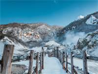 שלג בהואקידו, יפן / צילום: shutterstock