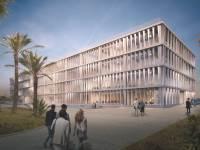 הדמיה של הבניין החדש שיוקם צילום: זרחי אדריכלים ו- StudioPEZ