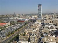 אזור התעשייה בבני בנק וקניון איילון / צילום: תמר מצפי