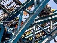 עובדים אמריקאים באתר בניה / צילום: שאטרסטוק