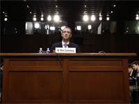מארק צוקרברג בשימוע בסנאט האמריקאי ב10 באפריל 2018 / צילום: רויטרס