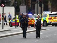 כוחות משטרה באזור האירוע בלונדון / צילום: רויטרס