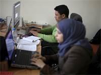 Gaza Sky Geeks - האקסלרטור היחיד בעזה / צילום: רויטרס, איברהים אבו מוסטפא