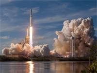 שיגור הטיל של ספייס X / צילום: רויטרס