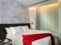 חדר במלון NYX \ צילום: איה בן עזרי
