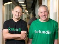 אורי לוין וזיו תירוש, היזמים של Refundit / צילום: Refundit