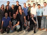 """אירוע חשיפת המיזמים בנוכחות ראש השב""""כ, נדב ארגמן,באונ' תל אביב / צילום: אילון יחיאל"""