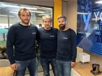 מימין לשמאל: מייסדי יוביק פבריס, אבי וג'יל חייט / צילום: ליאור דלל